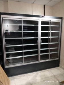 Торговое холодильное оборудование для минимаркета Green