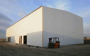Строительство быстровозводимых складов из сэндвич-панелей на Юге Украины