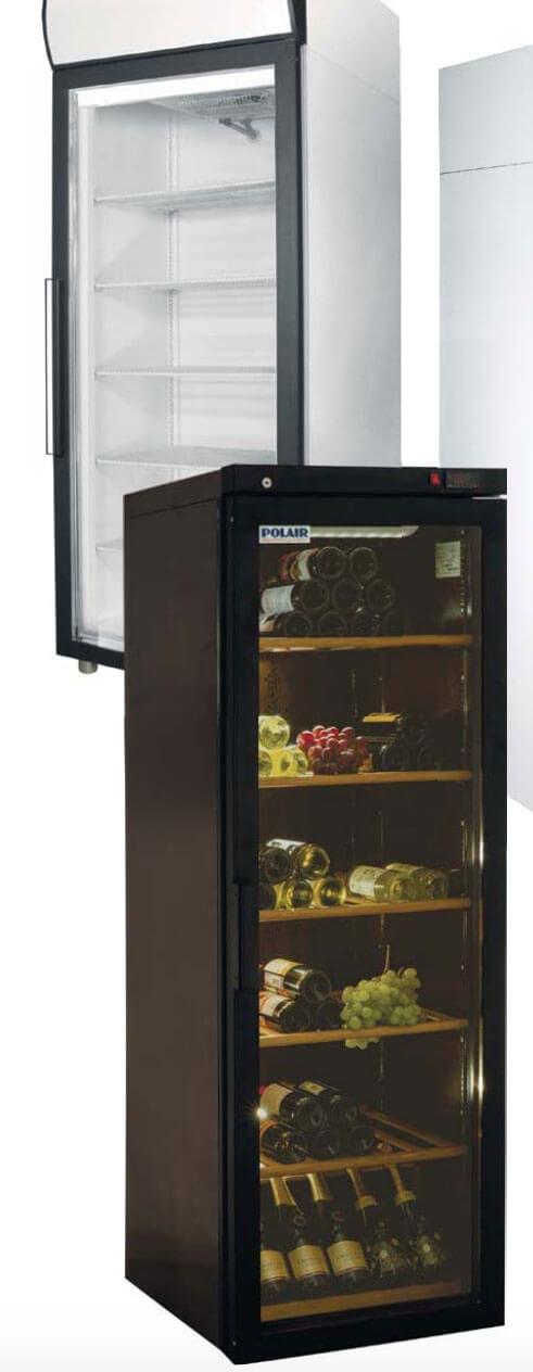 Ремонт и обслуживание холодильных шкафов со стеклянными дверьми в Херсоне