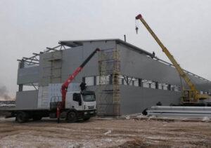 Строительство быстровозводимых зданий из сэндвич панелей на Юге Украины - ХОЛОДСЕРВИС